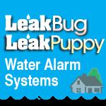 Leak Bug Leak Puppy Logo